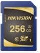 Фото - SecureDigital 256Gb Hikvision HS-SD-P10/256G {SDXC Class 10, UHS-I} видеорегистратор для видеонаблюдения hikvision hiwatch ds h116g