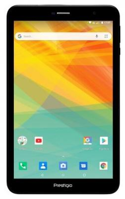 """Prestigio WIZE 4638 3G, PMT4638_3G_C_RU, Single Micro-SIM, have call function, 8.0"""" WXчGA(800*1280) IPS display, up to 1.3GHz quad core processor, android 8.1 go, 1GB RAM+8GB ROM, 0.3MP front+2MP rear"""
