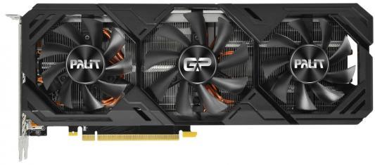 Фото - Видеокарта Palit PCI-E PA-RTX2080SUPER GP OC 8G nVidia GeForce RTX 2080SUPER 8192Mb 256bit GDDR6 1650/15500/HDMIx1/DPx3/HDCP Ret видеокарта palit nvidia geforce gtx 1660super pa gtx1660super gp oc 6g 6гб gddr6 oc ret [ne6166ss18j9 1160a]