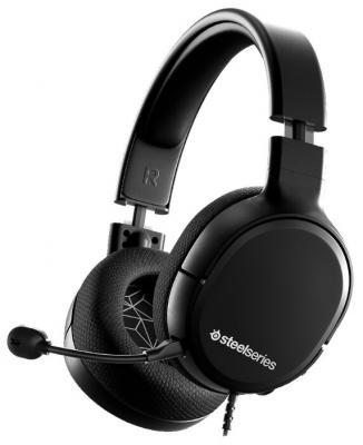 Наушники с микрофоном Steelseries Arctis 1 черный 3м мониторы оголовье (61427)