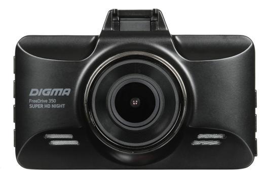 Видеорегистратор Digma FreeDrive 350 Super HD Night черный 3Mpix 2304x1296 1296p 170гр. MS8336
