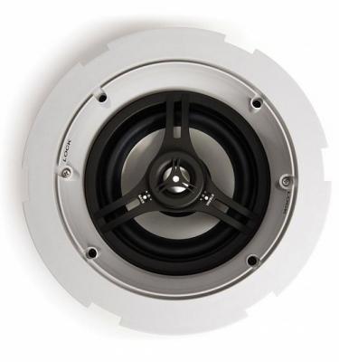 """Акустика Current Audio [FIT652FL] 6,5"""" в потолок, двухполосная, 38Гц-20кГц, 5-125 Ватт, 8, 6 или 4 Ом, материал вуфера - алюминий, твитера алюминий (92007)"""