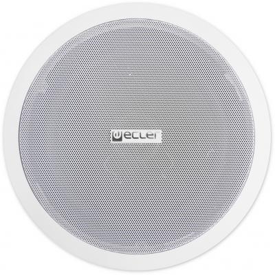 """Акустическая система ECLER [IC8] двухполосная акустическая система, 8"""" НЧ и 1"""" коаксиальный мягкий купольный твитер, 60 Вт/8Ом, 5/7.5/15/30 Вт на 100В, готов к покраске. Цвет белый. (цена за 1 штуку) фото"""