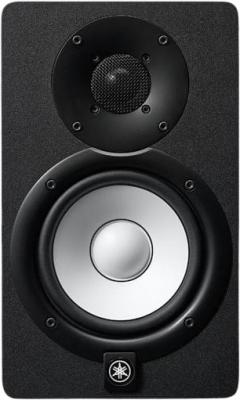 Акустическая система Yamaha [HS5] студийного мониторинга ближней зоны активная 2-полосная, Частотный диапазон 54Гц - 24кГц, 70-ваттный усилитель мощности с раздельным усилением: 45 Ватт НЧ, 25 Ватт ВЧ, XLR + TRS, цвет черный фото