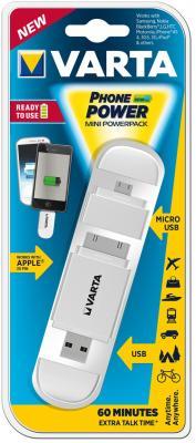 Внешний аккумулятор VARTA Mini Powerpack Белый