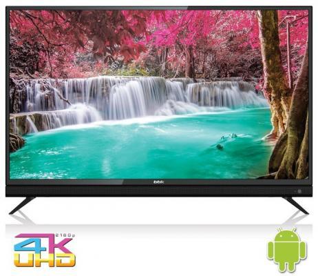 Фото - Телевизор BBK 50LEX-8161/UTS2C черный телевизор bbk 50lex 8161 uts2c черный
