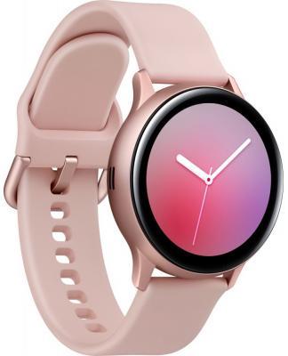 Смарт-часы Samsung Galaxy Watch Active2 44мм 1.4 Super AMOLED розовый (SM-R820NZDRSER) смарт часы samsung galaxy watch super amoled розово золотистый
