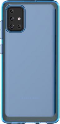 Чехол (клип-кейс) Samsung для Samsung Galaxy A71 araree A cover синий (GP-FPA715KDALR)