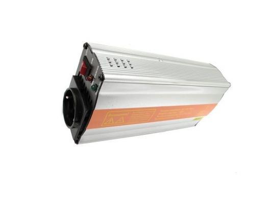 Автомобильный инвертор Jet.A JA-PI2 (Преобразователь питания от от от прикуривателя 12-220В, мощность 300Вт, нагрузка до 600Вт)+Кабель для подключения