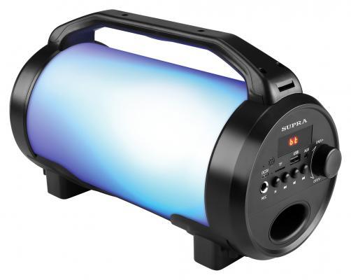 Аудиомагнитола Supra BTS-655 черный 15Вт/MP3/FM(dig)/USB/BT/microSD аудиомагнитола telefunken tf srp3503b серый 6вт mp3 fm dig usb bt sd
