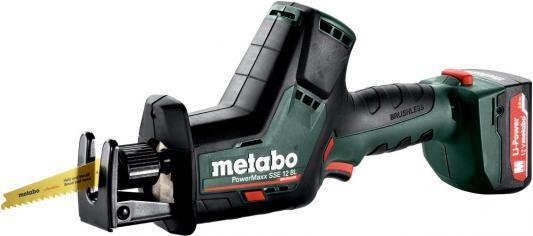 Фото - Сабельная пила Metabo PowerMaxx SSE 12 BL аккум. 3000ход/мин пила сабельная metabo sse 1100 606177500