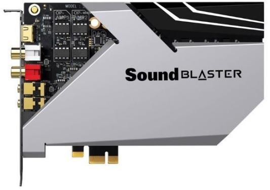 Звуковая карта Creative PCI-E Sound Blaster AE-9 (Sound Core3D) 5.1 Ret внутренняя звуковая карта creative sound blaster z se