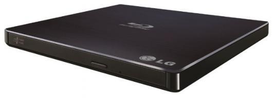 цена на Привод Blu-Ray LG BP55EB40 черный USB slim внешний RTL