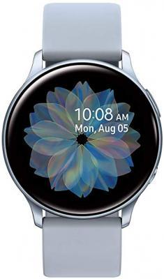 Смарт-часы Samsung Galaxy Watch Active2 44мм 1.4 Super AMOLED серебристый (SM-R820NZSRSER) смарт часы samsung galaxy watch super amoled розово золотистый