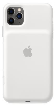 Чехол-аккумулятор Apple Smart Battery Case для iPhone 11 Pro Max белый MWVQ2ZM/A чехол аккумулятор apple smart battery case для apple iphone 11 pro белый