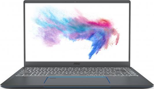 Ноутбук MSI Prestige 14 A10SC-057RU i7-10710U (1.1)/16G/512G SSD/14.0FHD IPS 60Hz/NV GTX1650 4G/noODD/Win10 Gray