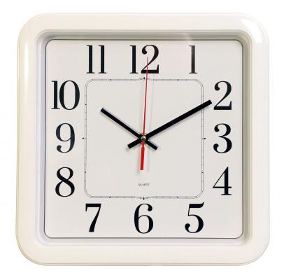 Часы настенные аналоговые Бюрократ WallC-S79P белый