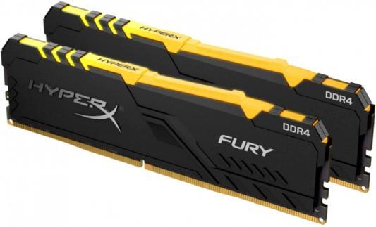Kingston 32GB 3600MHz DDR4 CL17 DIMM (Kit of 2) HyperX FURY RGB стоимость