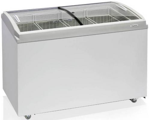 Морозильный ларь Бирюса Б-355CZQ белый