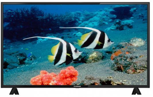 Фото - Телевизор StarWind SW-LED43BA201 черный телевизор led 43 starwind sw led43ba201 черный 1920x1080 60 гц scart vga