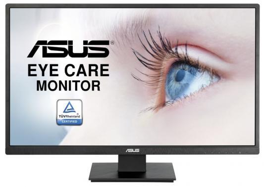 """ASUS VA279HAE, 27"""" VA LCD monitor 16:9, FHD 1920x1080, 6ms(GTG), 300 cd/m2, 3000 :1, 178°(H), 178°(V), D-sub, HDMI, VESA 100x100 mm, black, Черный"""
