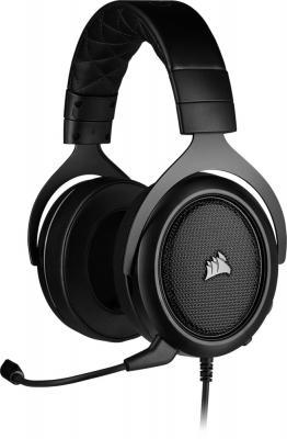 Фото - Игровая гарнитура Corsair Gaming™ HS50 PRO STEREO Gaming Headset, Carbon компьютерная гарнитура corsair hs50 pro stereo gaming headset черный матовый