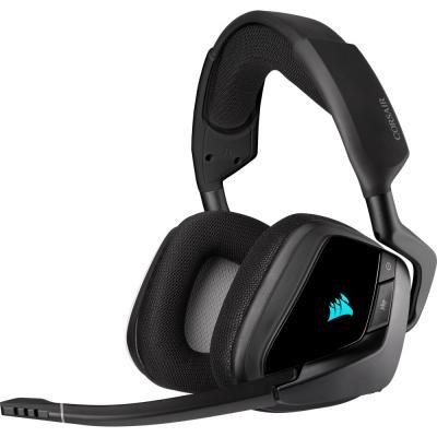 Игровая гарнитура беспроводная Corsair VOID RGB ELITE Wireless черный (CA-9011201-EU)