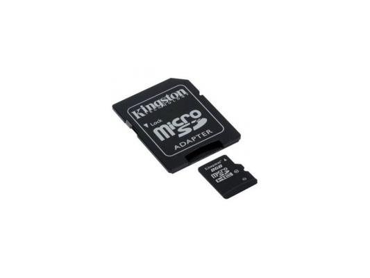 Карта памяти MicroSDHC 8GB Kingston Class10 <SDC10/8GB>