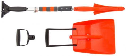 Щетка-сметка для снега со скребком, трансформер // Stels