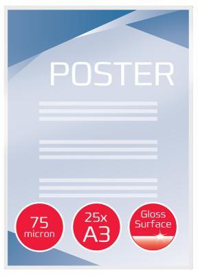 Фото - Пленка для ламинирования GBC 75мкм A3 (25шт) глянцевая 426x303мм 3740486 плакат a3 29 7x42 printio закон и порядок