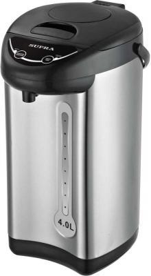 Термопот Supra TPS-4001S 800 Вт серый 4 л металл/пластик термопот supra tps 5000