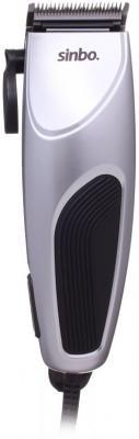 Фото - Машинка для стрижки Sinbo SHC 4377 серебристый/черный 8Вт (насадок в компл:4шт) машинка для стрижки andis d8 черный насадок в компл 4шт