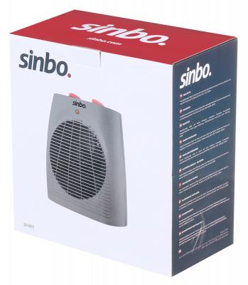 Тепловентилятор Sinbo SFH 6929 2000 Вт термостат ручка для переноски серый оранжевый