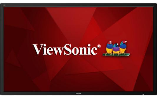 Фото - Профессиональная панель 75 ViewSonic CDE7500 Black (4K, 3840x2160, 8 ms, 178°/178°, 450 cd/m, 1200:1, +4xHDMI, +4xUSB( viewsonic px727 4k