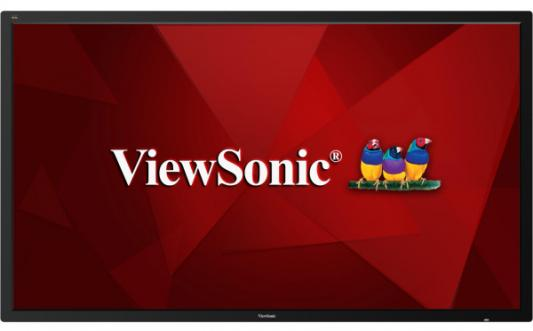 Фото - Профессиональная панель 86 ViewSonic CDE8600 Black (4K, 3840x2160, 8 ms, 178°/178°, 400 cd/m, 1200:1, +HDMI, +3xUSB(2xU viewsonic px727 4k