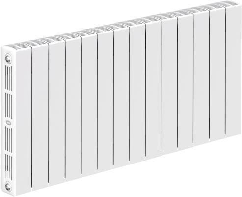 Радиатор RIFAR SUPReMO 500 х14 секц НП прав (VR) биметаллический радиатор rifar рифар b 500 нп 10 сек лев кол во секций 10 мощность вт 2040 подключение левое