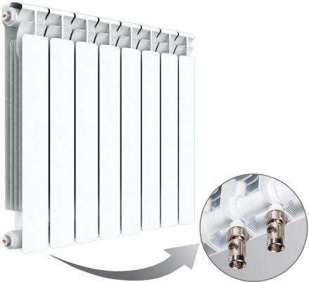 Радиатор RIFAR B 350 х 14 сек НП лев (BVLО) Объект биметаллический радиатор rifar рифар b 500 нп 10 сек лев кол во секций 10 мощность вт 2040 подключение левое
