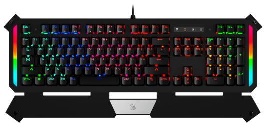 Клавиатура проводная A4TECH B875N USB черный