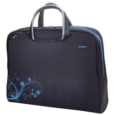 Сумка для ноутбука 15,6-16 PortCase KCB-50 Black, нейлон/полиэстер сумка для ноутбука vivanco 31070 15 6 black