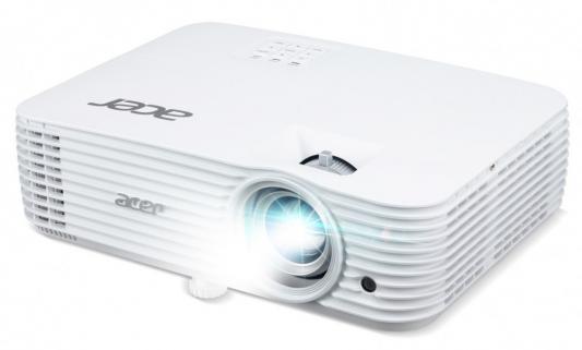 Фото - Проектор Acer X1626AH 1920x1200 4000 люмен 10000:1 белый (MR.JRF11.001) проектор acer pd1520i 1920х1080 2000 люмен 1000000 1 белый mr jr411 001