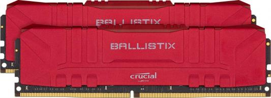 Оперативная память 16Gb (2x8Gb) PC4-25600 3200MHz DDR4 DIMM CL16 Crucial BL2K8G32C16U4R crucial 16gb kit 8gbx2 ddr4 3600mt s cl16 unbuffered dimm 288 pin ballistix black