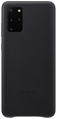 Фото - Чехол (клип-кейс) Samsung для Samsung Galaxy S20+ Leather Cover черный (EF-VG985LBEGRU) чехол клип кейс samsung s20 g980 clearview l blue ef zg980clegru