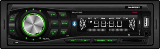 Автомагнитола Soundmax SM-CCR3184FB 1DIN 4x40Вт