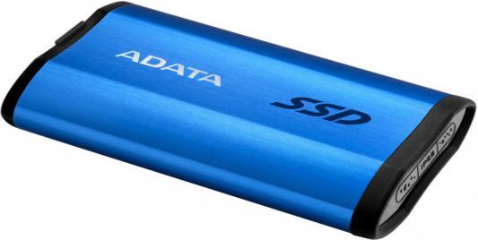 Фото - ADATA 512GB SE800 Portable SSD USB 3.2 Gen2 Type-C Blue внешний ssd adata se800 512 gb синий