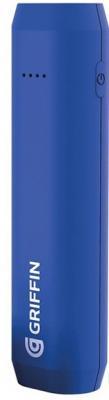 Внешний аккумулятор Griffin Reserve Power Bank, 2500mAh - Blue внешний аккумулятор griffin reserve power bank 2500mah pink