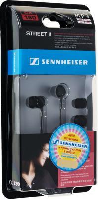 Наушники Sennheiser CX 180 Street II наушники sennheiser 100