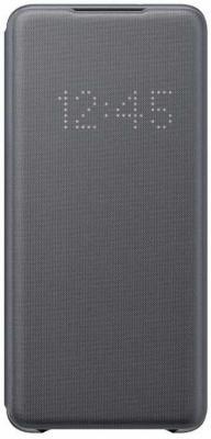Чехол (флип-кейс) Samsung для Samsung Galaxy S20+ Smart LED View Cover серый (EF-NG985PJEGRU) чехол samsung galaxy s20 ultra smart led view cover серый ef ng988pjegru