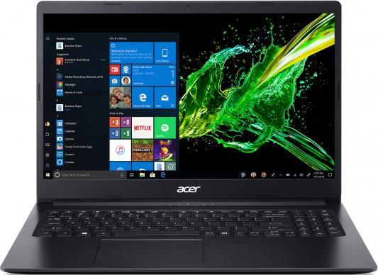 """Ноутбук Acer Aspire 3 A315-22-98HR A9 9420e/4Gb/500Gb/AMD Radeon R5/15.6""""/HD (1366x768)/Linux/black/WiFi/BT/Cam цена и фото"""