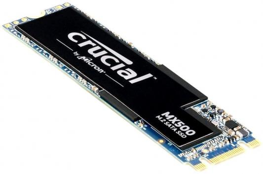 Фото - Твердотельный накопитель SSD M.2 500 Gb Crucial MX500 Read 560Mb/s Write 510Mb/s 3D NAND TLC (CT500MX500SSD4) накопитель ssd crucial 500gb mx500 m 2 2280 ct500mx500ssd4n