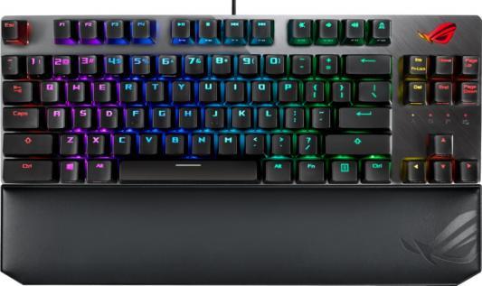 Клавиатура проводная ASUS X801 STRIX SCOPE TKL USB черный